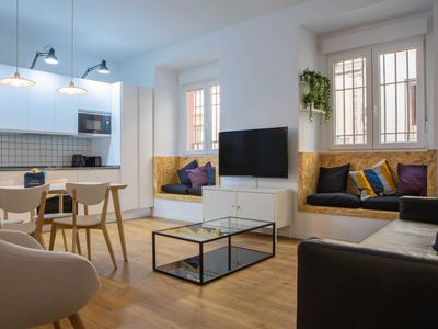 Photo for Charming & Modern 2bed in Madrid's City Center