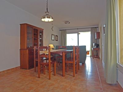 Photo for Spacious, sunny two-bedroom apartment with large pool and children's pool.