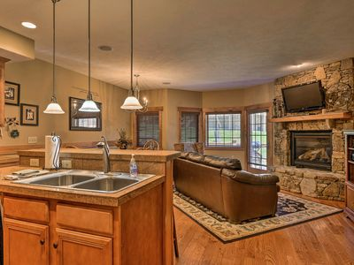 Photo for Cozy Southwind Seven Springs Home, Ski-In/Ski-Out!