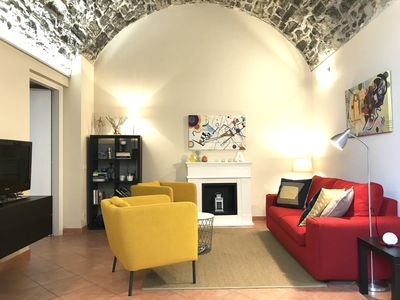 Photo for Andrea's House, cozy apt in a 16th c. villa, with garden wifi and free parking