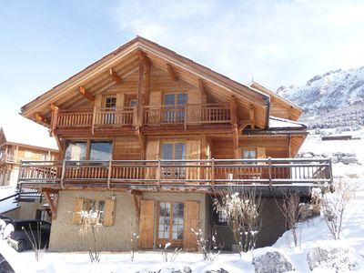 Photo for Charming family chalet in Vars Sainte Catherine