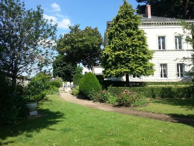 Photo for LOIRE GITES ♥ sumptuous views of the castle and the river. Calm Full Su