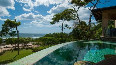 Photo for Luxury Six Bedroom beach front villa in Tamarindo, amazing sea views