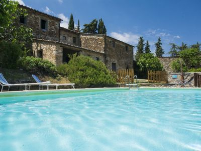 Photo for Vacation home Le Bonatte  in Radda in Chianti, Tuscany Chianti - 4 persons, 2 bedrooms