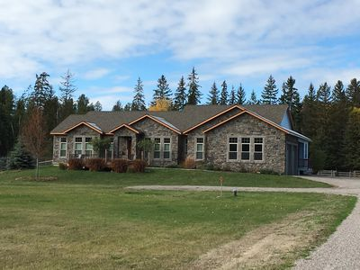 Photo for Gorgeous 4 BR Home, 20 Mins to Glacier Park/Whitefish, 10 Mins to Columbia Falls