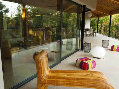 Photo for Architect house for indoor-outdoor living on a vast wooded land