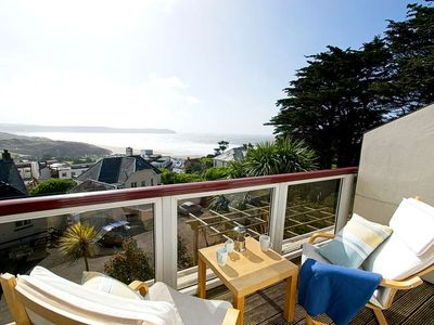 Photo for 2 bed apartment close to village and beach