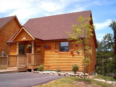 Perfect cabins in the woods, with all the resort amenities you want in the best location, right off the strip in Branson but away from the noise and with wonderful wooded views!