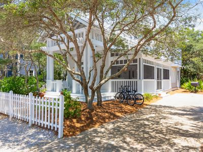 """Photo for In Seaside Proper """"Curphey Cottage"""" 3 Bedroom with Tower steps to West Pool!"""