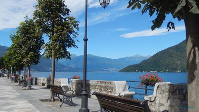 "Photo for ""FARFALLA"" HOLIDAY HOUSE with PANORAMIC VIEW on LAKE MAGGIORE"
