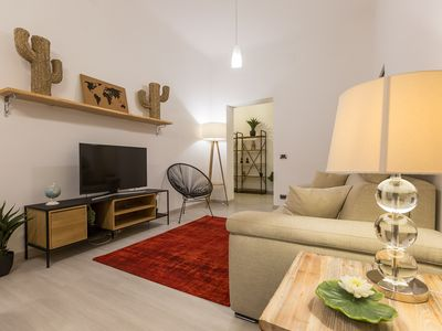 Photo for Lovely New home, is located in the heart of Trastevere.