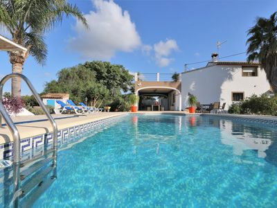 Photo for MAGNIFICENT COUNTRY HOUSE and  GUEST HOUSE – just outside Denia for up to 12 p