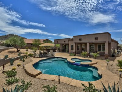 Photo for Luxurious Private newly built Executive Resort Style Desert Oasis In Estrella