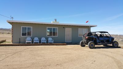 """Photo for Double """"Z"""" Ranch Modern Homestead Cabin - 30 mins to Joshua Tree National Park"""