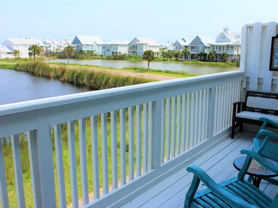 Photo for Newly listed 3/2 condo with view and short walk to beach - sleeps 9-12