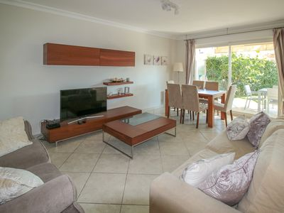 Photo for Modern Two Bedroom Ground Floor Apartment close to beach and Juan Les Pins