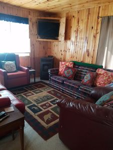Photo for Cute, Quiet Cabin Getaway In The Woods! 200 FT to Snowmobile and ORV trail