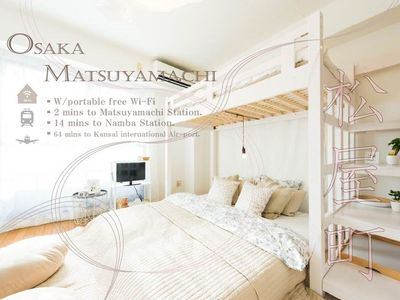 Photo for Airy roomshinsaibashi/easy access/WIFI