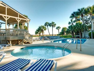 Photo for 112 Oceanwood | Stone's Throw to Beach | Access to Complex Pool | Large Deck | S. Forest Beach