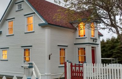 THE BUTLER HOUSE, CUPIDS.  vacation rental, a registered heritage property