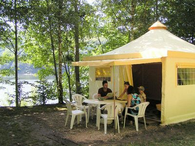Photo for Camping La Source **** - Fun Flower Bungalow 3 Rooms 5 People