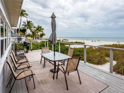 Photo for Sandy Toes Cottage, 2 Bedrooms, Sleeps 6, Beach Front, WiFi
