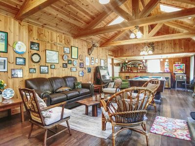 Photo for Perfect house for entertaining and minutes from the lake & our historic village