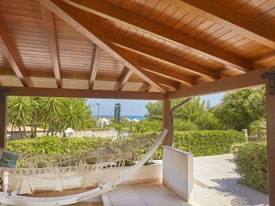 Photo for CDG031 Villa 50 meters from the beach of Castellammare del Golfo.