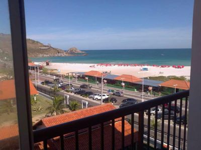 Photo for Apartment with views of Praia Grande. Located on the boardwalk. Foot on the sand.