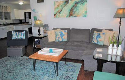 Photo for Serene Home w/Hot Tub/Fire Pit/Great Location/1.5 blocks to beach!