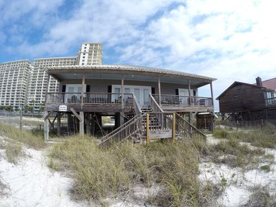 Front of the Beach House