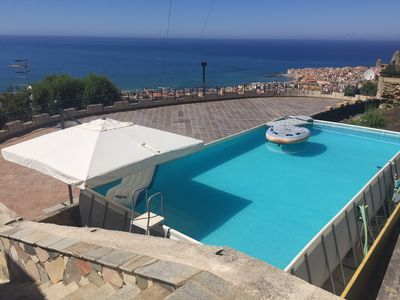 Photo for Sicily In Cefalu beautiful holiday home with private pool