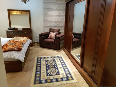 Photo for ROYAL SUITE FULLY FURNISHED SRVSD APRTMNT 4TH CRCL UPSCALE RESIDETIAL AREA