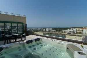 Photo for VilamouraSun Aquamar 606 - Private Penthouse, Full Terrace With Jacuzzi