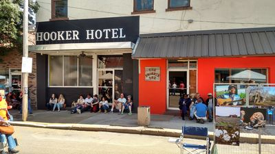 Squeeze Box and sister property the Hooker Hotel. Always have a front row seat.