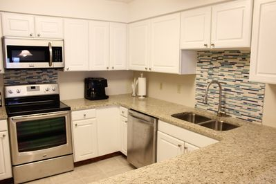 You'll love to cook and entertain your guests in our newly updated kitchen!