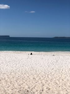 The whitest sand in the Southern Hemisphere