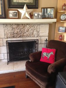 Photo for San Antonio Historic Home, 3 bedrooms: Hill Country Views, Dogs Welcome