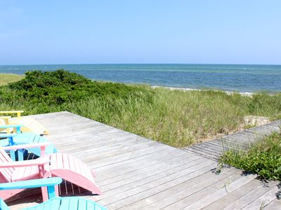 Photo for Home on Nantucket Sound & Private Beach