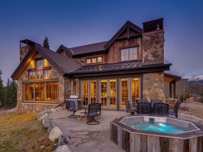 Photo for Legado Lodge: Luxury Home w/ Private Hot Tub, Ski Area Access, Shuttle Access