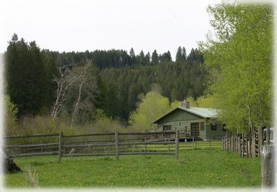 Exterior - Beautiful setting on over 100 acres bordering National Forest service land.