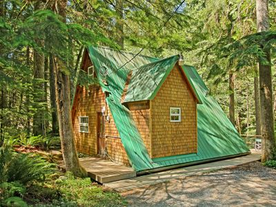 Photo for Charming, Private, Secluded Cabin On A Spectacular Wild River