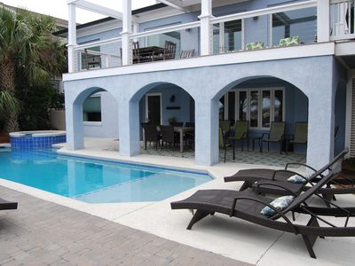 Photo for Oceanfront Beach Home - Spectacular Views! Free Pool and Spa Heat!