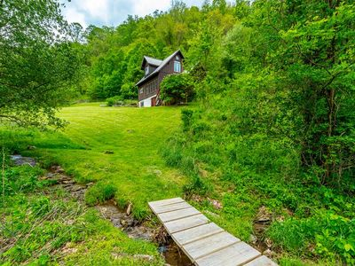 Photo for Stardust Cottage; private mountain get-a-way, views, fire-pit / Asheville & more!
