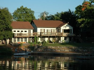Photo for Tranquil Lakefront Writers Retreat or Couples Getaway 2 hours from Chicago