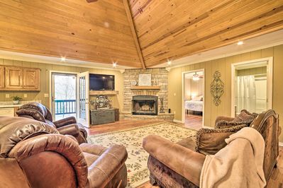 Fall in love with the great outdoors when you stay in this vacation rental!