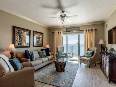 Photo for Gorgeous Beachfront Condo with Stunning Views. Enjoy Views from Nearly Every Room. Resort-Style Amenities with Every Reservation!