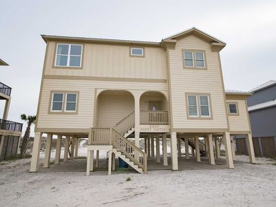 Photo for Rates Dropped ~ Recently Remodled ~ 6BR ~ Gulf Front ~ Sleeps 18 ~ Pet Friendly ~ Sandy Castle Beach