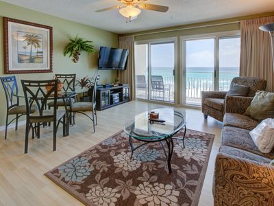 Photo for Lovely Gulf Condo w/ Balcony w/ Outdoor Shower! Beach Equipment Included