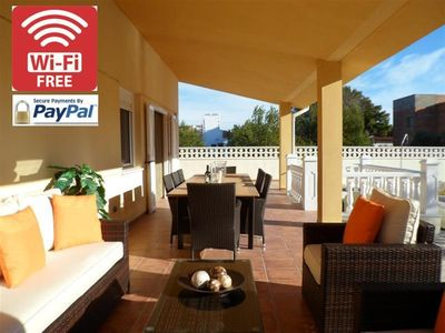 Photo for Family Villa with private pool, gardens, wifi and UK TV
